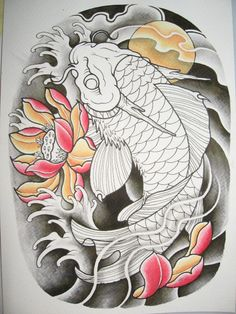 Find the desired and make your own gallery using pin. Drawn koi fish oriental - pin to your gallery. Explore what was found for the drawn koi fish oriental Body Art Tattoos, Tattoos, Traditional Japanese Tattoos, Koi Tattoo Design, Japanese Tattoo Art, Japanese Tattoo, Koi Dragon Tattoo, Tattoo Designs, Tattoos With Meaning