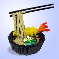 This is just as cool as those Japanese plastic food models!