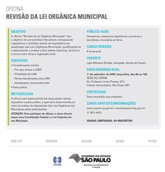Informação presta: leia os arquivos do blog: Revisem a lei orgânica municipal contribuintes de ...