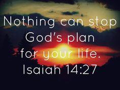 """Let God """"lead"""" you."""