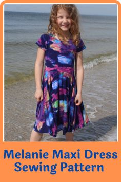 Get your little girl to stand out with this one of a kind maxi dress. It's pretty and practical and she can wear it to multiple occasions including sleepover parties. It's simple to wear and accessorize and the pattern offers plenty of options on who you can improve and try out different looks on the dress. In this pattern, you will find everything you need to make the maxi dress and an additional 140 different dresses. #maxidresspatterns#sewingpatterns#dresssewingpatterns#sewingathome