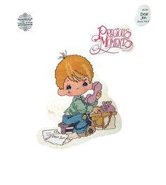 "Precious Moments ""Dear Jon"" Designs by Gloria & Pat Cross Stitch Chart"