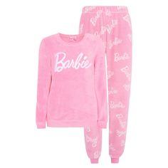 Primark Womens Barbie Black Polka Dot Soft Sweatshirt Jumper Ladies NEW