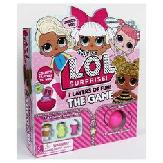 L.O.L. Surprise provides the ultimate unboxing experience with the L.O.L. Surprise Big Surprise! Discover 50 limited edition surprises inside with exclusive dolls and accessories!