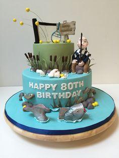 Grooms cake at Karlan Mansion I made Hunting fishing and golf