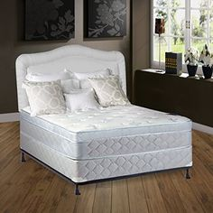 Continental Sleep is a proud manufacturer of the finest quality Mattresses & Box Springs, with the highest standards in durability, Quality, Comfort, & Beauty. All of our products are made in the USA To ensure that you get only the best! This item is part of our Luxury FOAM ENCASED... more details available at https://furniture.bestselleroutlets.com/bedroom-furniture/mattresses-box-springs/mattresses-box-spring-sets/product-review-for-continental-sleep-mattress-10-plu