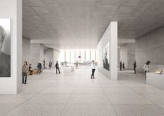 david chipperfield nobel center designboom