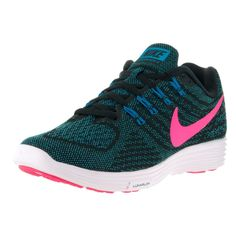 new arrivals 3ebba 1b3eb Nike Women s Lunartempo 2, Black, and Pink Running Shoe Pink Running Shoes,  Athletic