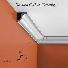 Coving Profiles from Davuka GRP - the UK centre for decorative mouldings
