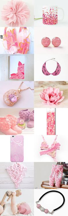 pink by Kanae   on Etsy--Pinned+with+TreasuryPin.com
