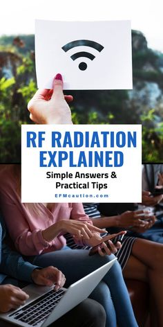 What is RF radiation which stands for radio frequencies? Are you and your children safe when using technology? Everyone nowadays uses cell phones, wifi routers, home appliances, tablets, tv, laptops, electronic reading devices... etc but at what risk to our health, and do we need to limit our time on these devices? Should young children be using these devices? Find out everything there is to know about RF Radiation and important ways to protect yourself plus safety tips. What Is Rf, Disaster Kits, Family Safety, Used Cell Phones, Radio Frequency, Healthy Lifestyle Tips, Alternative Health, Safety Tips, Wellness Tips