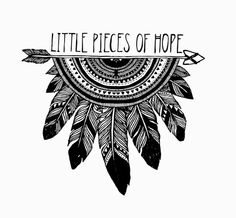 """the-boho-gypsy: """"Hope """" Hipster Drawings, Tumblr Drawings, Easy Drawings, Couple Drawings, Pencil Drawings, Doodle Art Drawing, Mandala Drawing, Mandala Art, Sketch Drawing"""