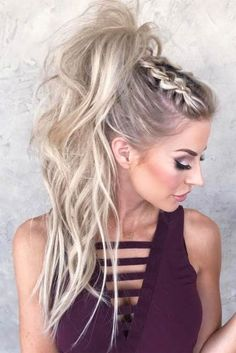 Cute Ponytail Styles To Look Pretty Hair Hair Styles - Cute Ponytail Styles To Look Pretty Lovehairstyles Com Perfect Ponytail Styles Never Go Out A Pony As An Element Of A Hairstyle Is Preferred By Most Of Ladies Due To Its Versatility And Cute