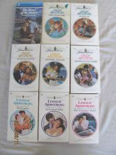 LINDSAY ARMSTRONG – HARLEQUIN ROMANCE'S – LOT OF 9 PAPERBACK BOOKS– Combine Ship