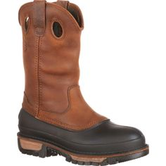 Timberland, Pull On Work Boots, Georgia Boots, Boots Online, Men S Shoes, Mid Calf Boots, Perfect Man, Brown Boots, Comfortable Shoes