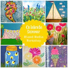 Summer Art Course for Kids, Teens, and Moms Too!