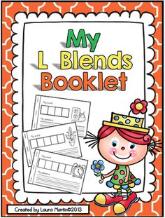Interactive Phonics Booklet-L Blends from PeaceLoveandFirstGrade on TeachersNotebook.com -  (13 pages)  - My L Blends is a hands-on Phonics booklet that provides your students a place to visually represent words and pictures that begin with L Blends bl-, cl-, fl-, gl-, pl-, and sl-.