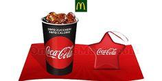 McDonald's: stella natalizia Coca Cola omaggio e bibita a 1 euro - http://www.omaggiomania.com/omaggi-con-acquisto/mcdonalds-stella-natalizia-coca-cola-omaggio-bibita-1-euro/