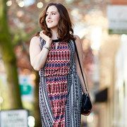 Take a look at the Dresses for Daytime Colorful Clothes, Colourful Outfits, Cute Maternity Dresses, That Look, Take That, Plus Size Dresses, Overalls, Feminine, Pants