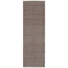 Boston Brown 2 ft. 3 in. x 7 ft. Rug Runner