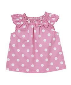 Mothercare Pink Spot Blouse