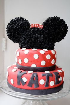 Minnie or Mickey Mouse Birthday Party