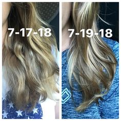 Message me to get the right products for your hair type. Monat Hair, Split Ends, Damaged Hair, Hair Type, Hair Growth, Hair Makeup, Long Hair Styles, Hair Products, Highlights