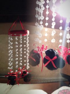 Minnie Mouse chandelier