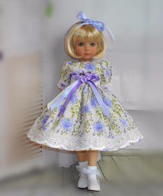 Dress & hair ribbon for Dianna Effner13 little Darling.