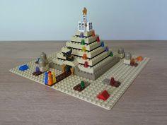 Totobricks: LEGO 3843 LEGO BOARD GAMES Ramses Pyramid Lego Board Game, Board Games, School Projects, Projects For Kids, Pyramid School Project, Legos, Triangle, Creative, Homeschooling