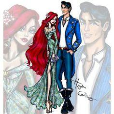 Ariel & Eric | Follow @badgalronnie