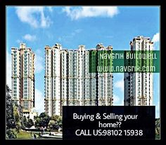 #Buying & #Selling your Home? Booked your 2/3 BHK #Apartment 51000/- only. Hurry up!! Call us:+ 91 98102 15938. #GreaterNoidawest #Navgrihbuildwell #realestate