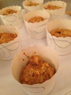 Honey Whole Wheat Pumpkin Muffins