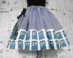 Dr Who Costume, Womens Dr Who Costume,Geek Dress, Ladies Dr Who Costume,ORIGINaL Skirts From RoOBYS, Geek Clothes
