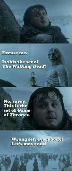 Walking dead vs game of thrones