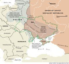 How Ukraine became Ukraine, in 7 maps - The Washington Post European History, World History, Family History, World Empire, Odessa Ukraine, Catherine The Great, Map Globe, Historical Maps, History Facts