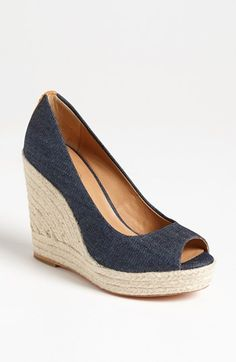 COACH 'Milan' Wedge Pump available at #Nordstrom