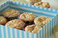 As Minhas Receitas: Muffins de Limão com Sementes de Papoila