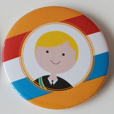 Leuke koningsdag button van TypischMies.nl