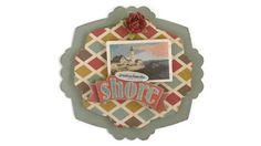 Shore Beach Vacation Scrapbook embellishment Paper by itsmemanon, $2.00