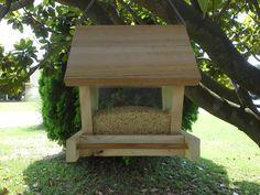 Home-made bird feeder...need a couple more, dear!