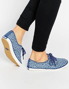 Image 1 of Keds Champion Taylor Swift Metallic Hearts Sneakers