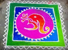 Discover some rangoli design and patterns. These new rangoli designs are easy to make. They are simple and can be made in no time and are apt for beginners and kids. Easy Rangoli Designs Diwali, Rangoli Ideas, Simple Rangoli, Beautiful Mehndi Design, Beautiful Rangoli Designs, Pattern Images, Pattern Design, Rangoli Patterns, Indian Festivals