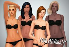 My Sims 4 Blog: Skins - All