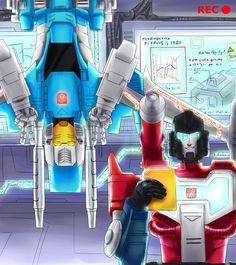 Brainstorm and Perceptor