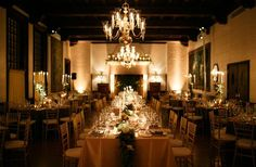 #Wedding #Reception #Table #Candles #Flowers #Racquet Club of Chicago