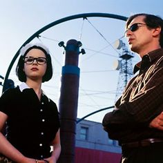"""Thora Birch and Steve Buscemi in Terry Zwigoff's """"Ghost World"""" / 2001 Steve Buscemi, Ghost World Movie, Thora Birch, My Ghost, Teen Movies, World Star, Movies Showing, Film Movie, Picture Photo"""