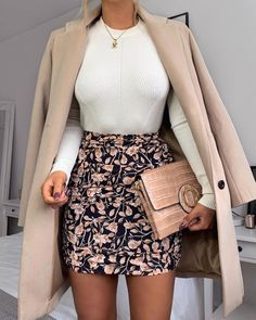 schöne Herbst und Winteroutfits Find the most beautiful outfits for your autumn and winter look. Komplette Outfits, Cute Casual Outfits, Business Casual Outfits, Stylish Outfits, Fall Outfits, Fashion Outfits, Casual Attire, Professional Outfits, Workwear Fashion