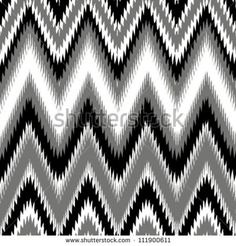 Colorful seamless chevron background pattern