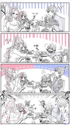 調理器具 (@Tamanoha07) さんの漫画 | 16作目 | ツイコミ(仮) Meg Meg, Compass, Manga, Anime, Cute, Cute Couples, Manga Anime, Manga Comics, Cartoon Movies